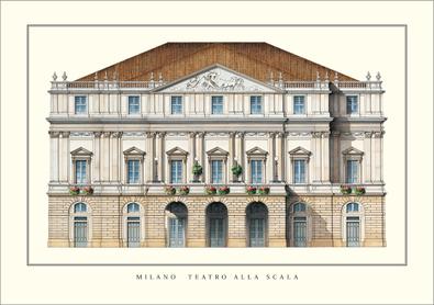 Giuseppe Piermarini Mailand, Teatro alla Scala