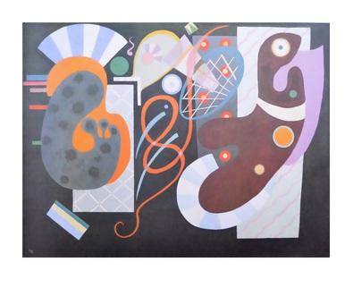 Wassily Kandinsky Noeud Rouge