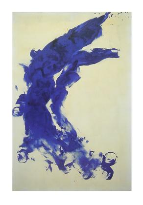 Yves Klein Anthropometrie (ANT 130) 1960