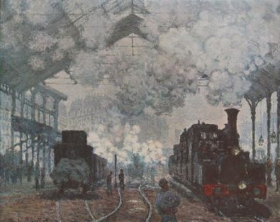 Claude Monet Der Gare St Lazare in Paris