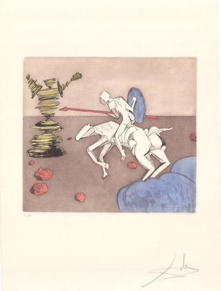 Salvador Dali Don Quijote (E) - Die Aufgabe