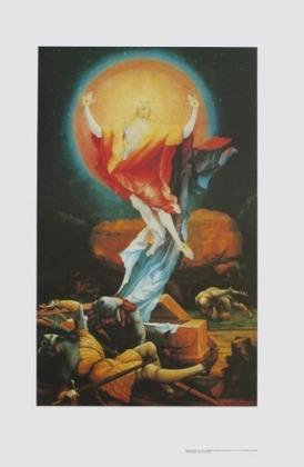 Matthias Gruenewald Auferstehung