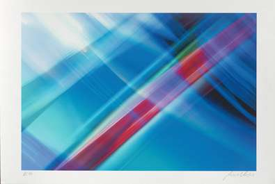 Norbert Schaefer Composition Blau (2002)