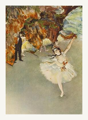 Edgar Degas Taenzerin