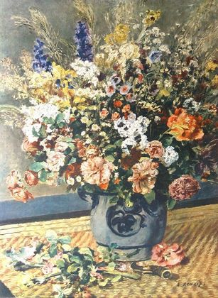 Pierre Auguste Renoir Feldblumenstrauss