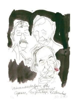Armin Mueller Stahl Veteranentreffen der Literatur