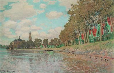 Claude Monet Kanal bei Zaandam