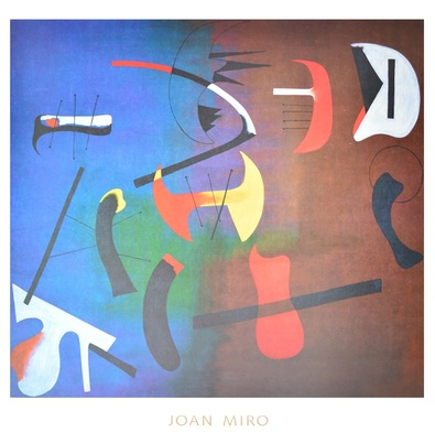 Joan Miro Composition