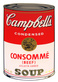 Warhol andy campbells soup consomme beef medium