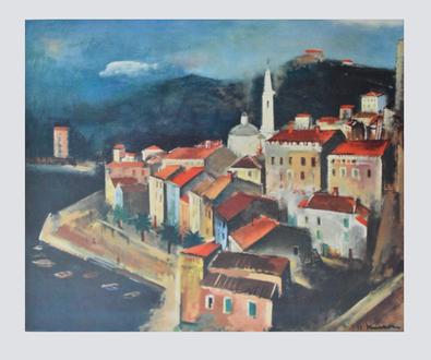 Joseph Kutter Calvi auf Korsika
