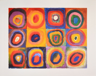 Wassily Kandinsky Eckige Kreise