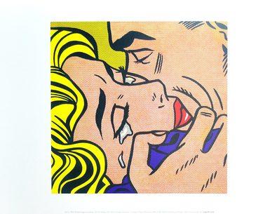 Roy Lichtenstein Kiss V