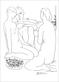 Picasso pablo trois femmes nues et une coupe d anemones medium