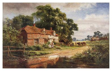 Robert Gallon An old surrey Farm