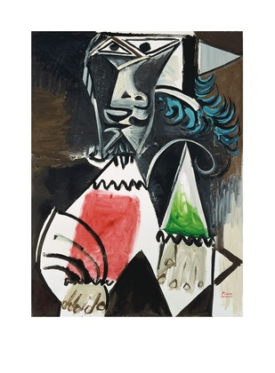 Pablo Picasso Buste d homme