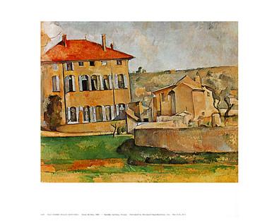 Paul Cezanne House at Aix, 1885