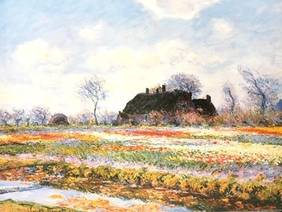 Claude Monet Tulpenfeld bei Sassenheim