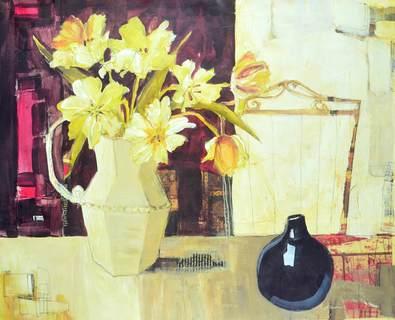 Gabriela Ibarra Chartreuse Tulips