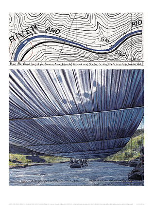Christo Over The River IX Project for Arkansas River