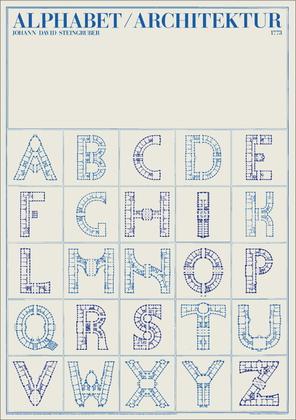 Johann David Steingruber Alphabet Architektur