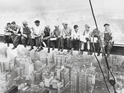 Charles Ebbets Lunchtime Atop a Skyscraper, 1932