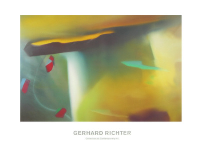 Gerhard Richter Abstraktes Bild Collection
