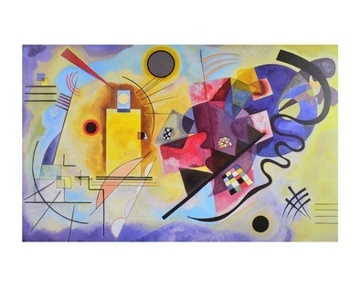 Wassily Kandinsky Gelb Rot Blau