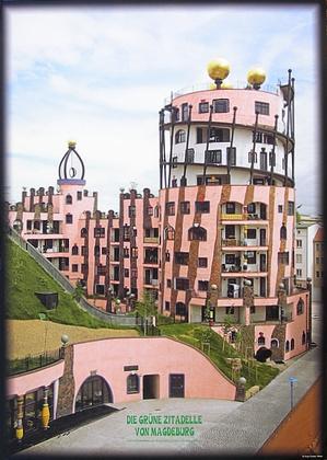 Friedensreich Hundertwasser Die grüne Zitadelle von Magdeburg