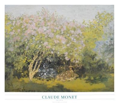 Claude Monet Lilacs in the sun