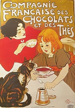 Theophile Alexandre Steinlen Compagnie Francaise des Chocolat