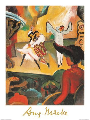 August Macke Russisches Ballet I