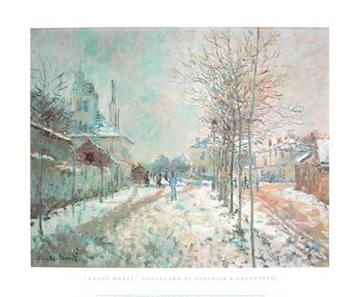 Claude Monet Boulevard de Pontoise a Argenteuil