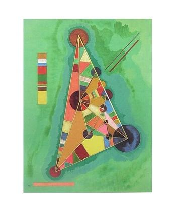Wassily Kandinsky Bunt im Dreieck