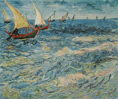Vincent van Gogh Meer bei St Maries (Buetten)