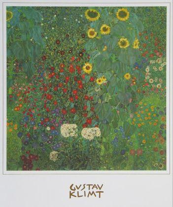 Gustav Klimt Bauerngarten mit Sonnenblumen