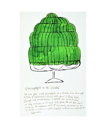 Andy Warhol Wild Raspberries, 1959 (green)