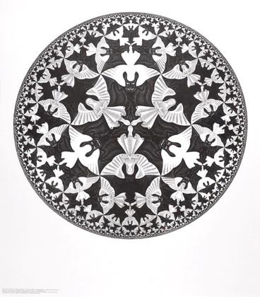 MC Escher Kreislimit IV