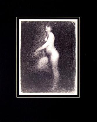 Georges Seurat Nude, 1882