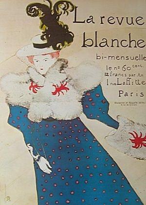 Henri Toulouse-Lautrec  La Revue Blanche