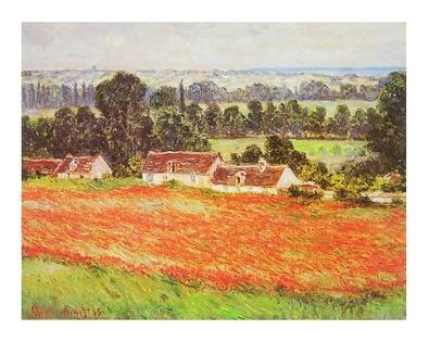 Claude Monet Mohnfeld in Giverny
