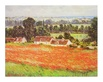 Monet claude mohnfeld in giverny medium