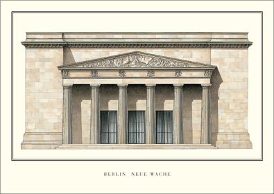 Karl Friedrich Schinkel Berlin, Neue Wache