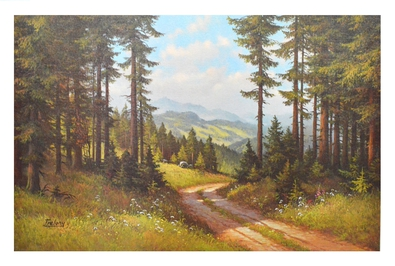 Trelony Waldweg