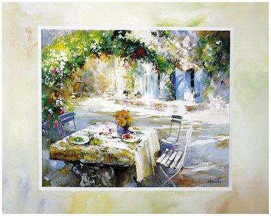 Willem Haenraets 4er Set 'Our Garden in Bloom' + 'Garden at the Lake' + 'Ydillic Garden' + 'Shadow Garden'