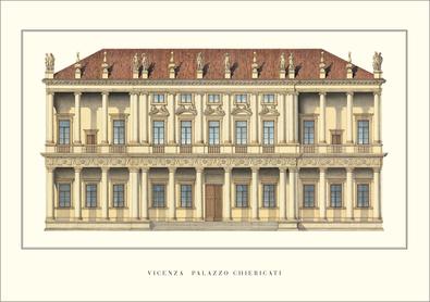 Andrea Palladio Vicenza, Palazzo Chiericati