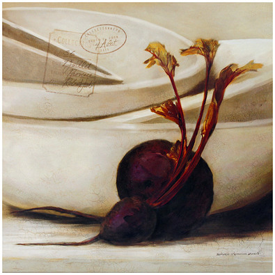 Bruce Hamilton Dorn 4er Set 'Archive Beet' + 'Archive Garlic' + 'Archive Radish' + 'Archive Onion'