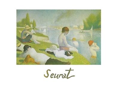 Georges Seurat Die Badenden bei Asnieres, 1884