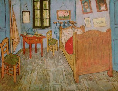 Vincent van Gogh Das Schlafzimmer in Arles
