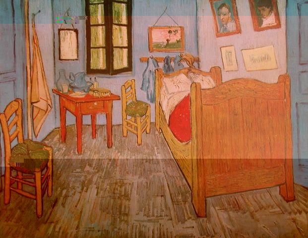vincent van gogh das schlafzimmer in arles poster