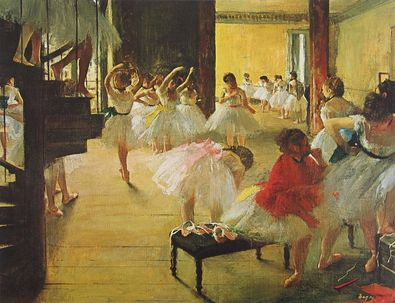 Edgar Degas In der Ballett Schule